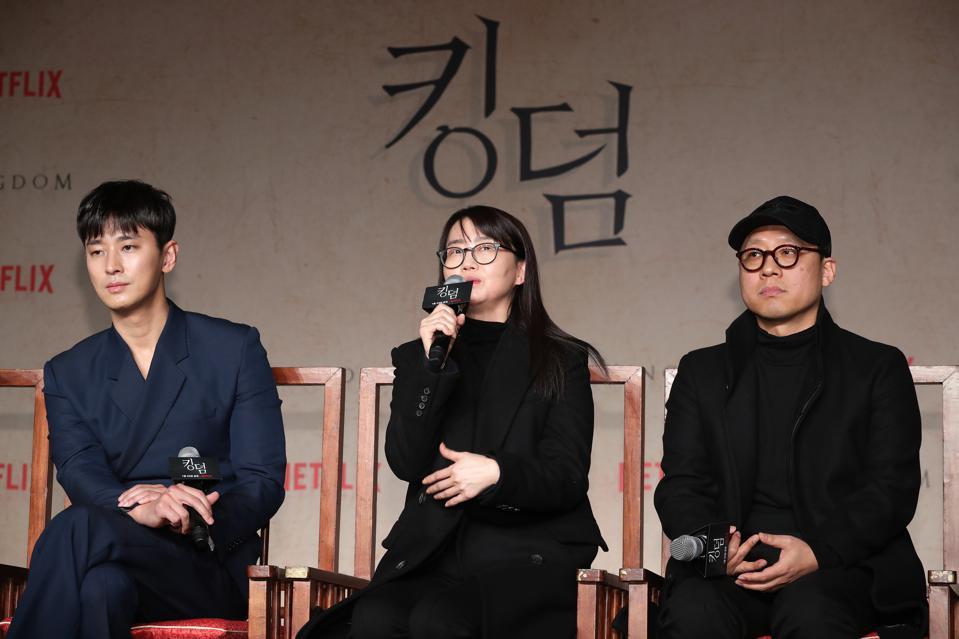 Joo Ji Hoon, Kim Eun Hee et Kim Sung Hoon