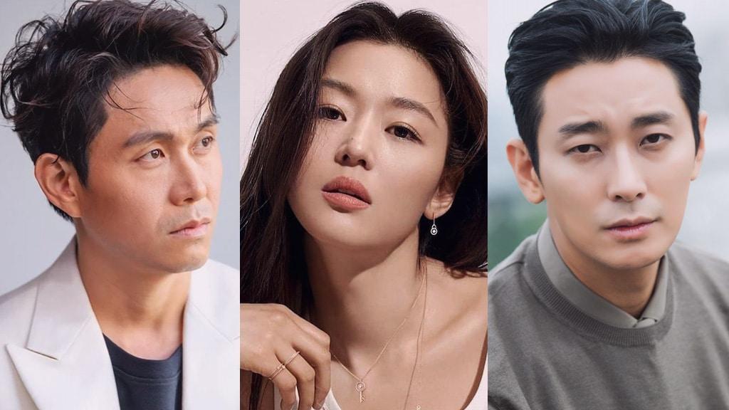 Oh Jung Se, Jun Ji Hyun, Joo Ji Hoon