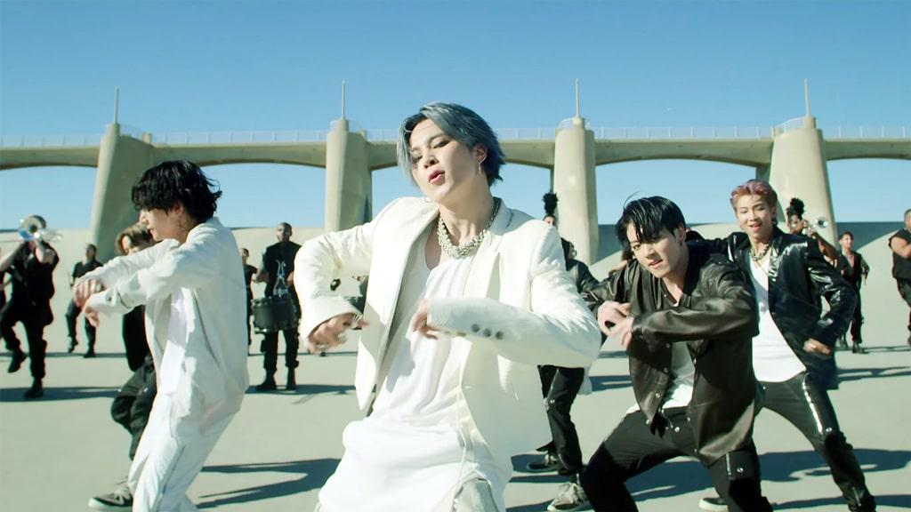 Le MV On de BTS : Jimin au centre