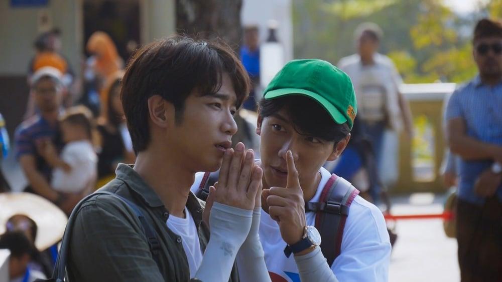 Liu Yihao et Lee Seung Gi