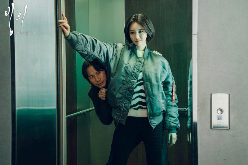 Song Sae Byeok et Go Joon Hee (Le Retour du Mal)