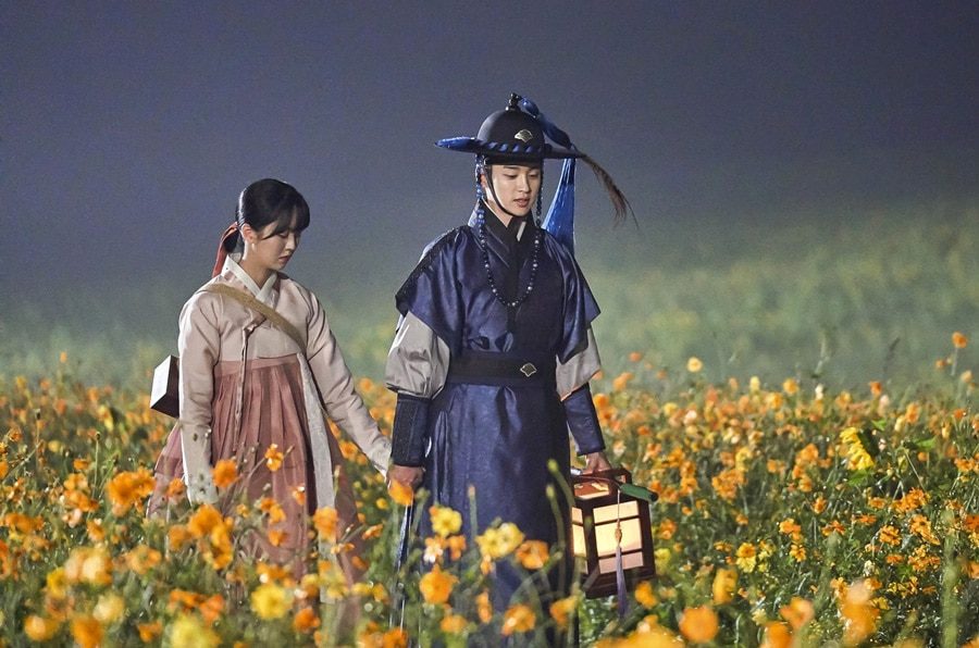 Kim So Hyun et Jang Dong Yoon dans The Tale of Nokdu
