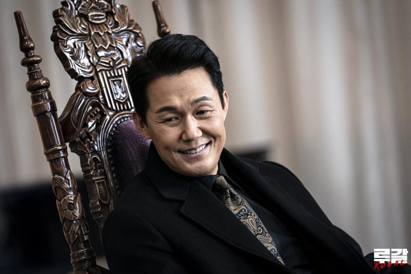 L'acteur coréen Park Sung Woong