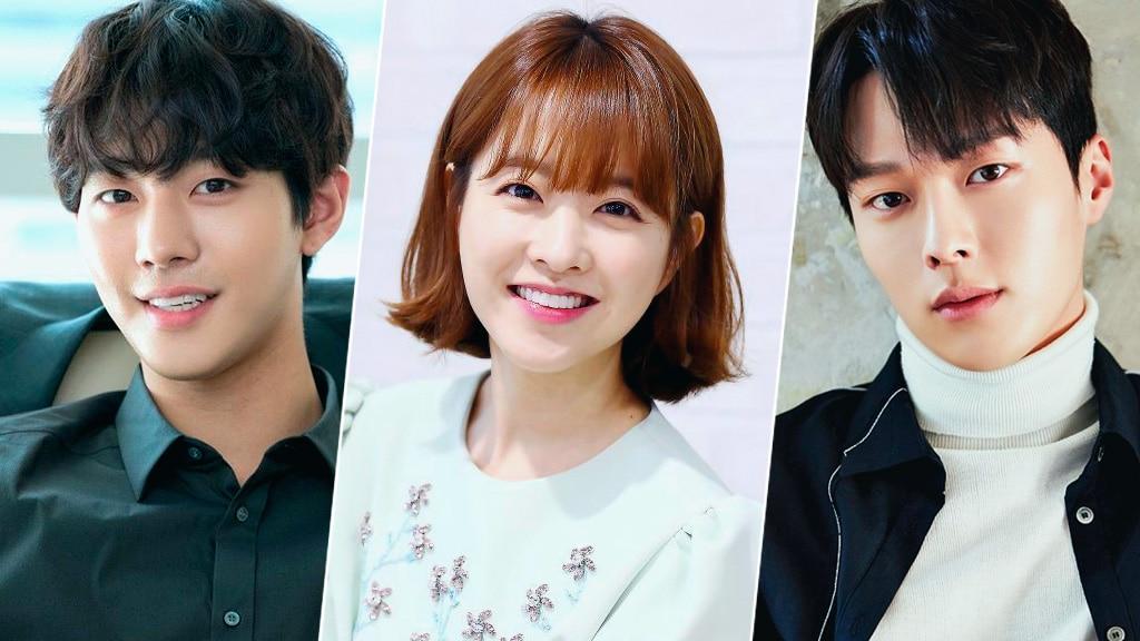 Ahn Hyo Seop, Park Bo Young, Jang Ki Yong