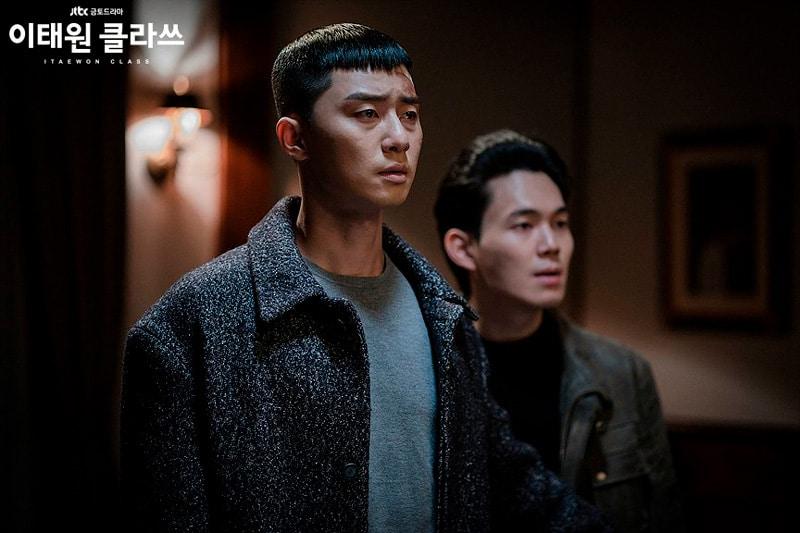 Park Seo Joon et Ryoo Kyung Soo (Itaewon Class)
