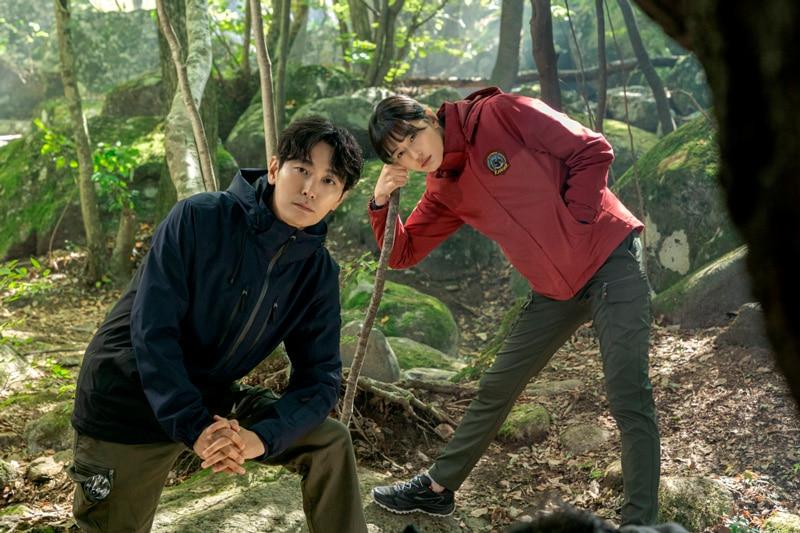 Ju Ji Hoon et Jun Ji Hyun (Mount Jiri)