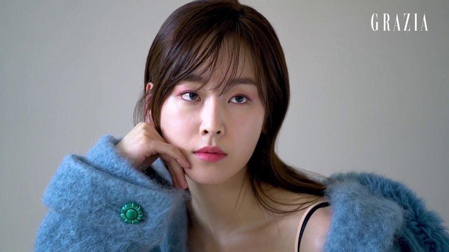 L'actrice Seo Hyun Jin