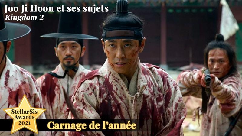 Joo Ji Hoon dans Kingdom 2, meilleur carnage