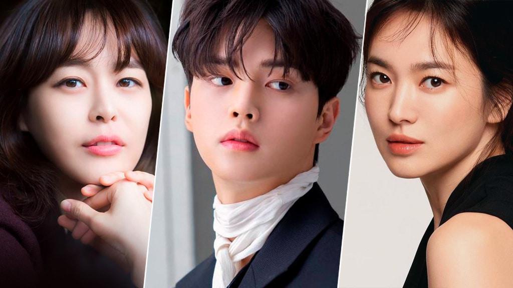 Lee Ha Na, Song Kang, Song Hye Kyo