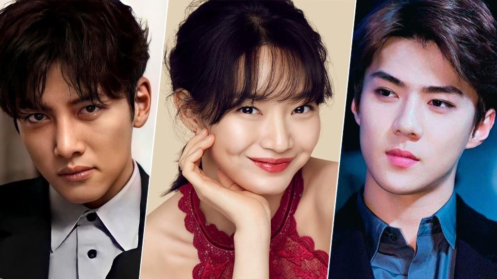 Ji Chang Woo, Shin Min Ah, Sehun