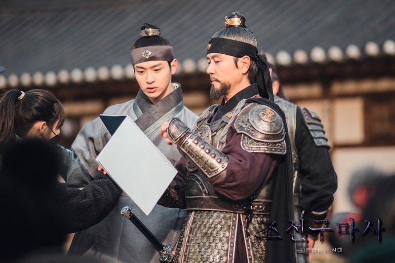 Jang Dong Yoon et Kam Woo Sung