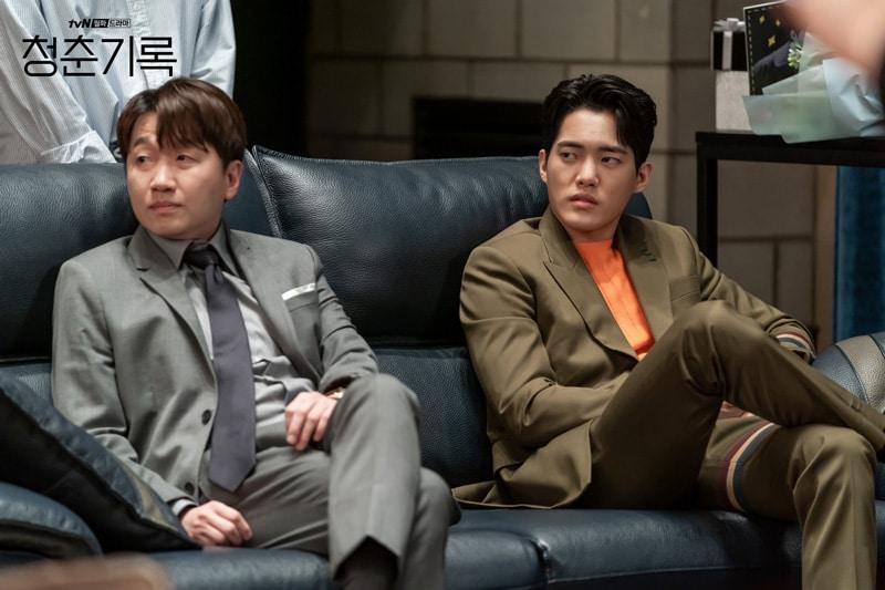 Lee Chang Hoon et Kim Gun Woo